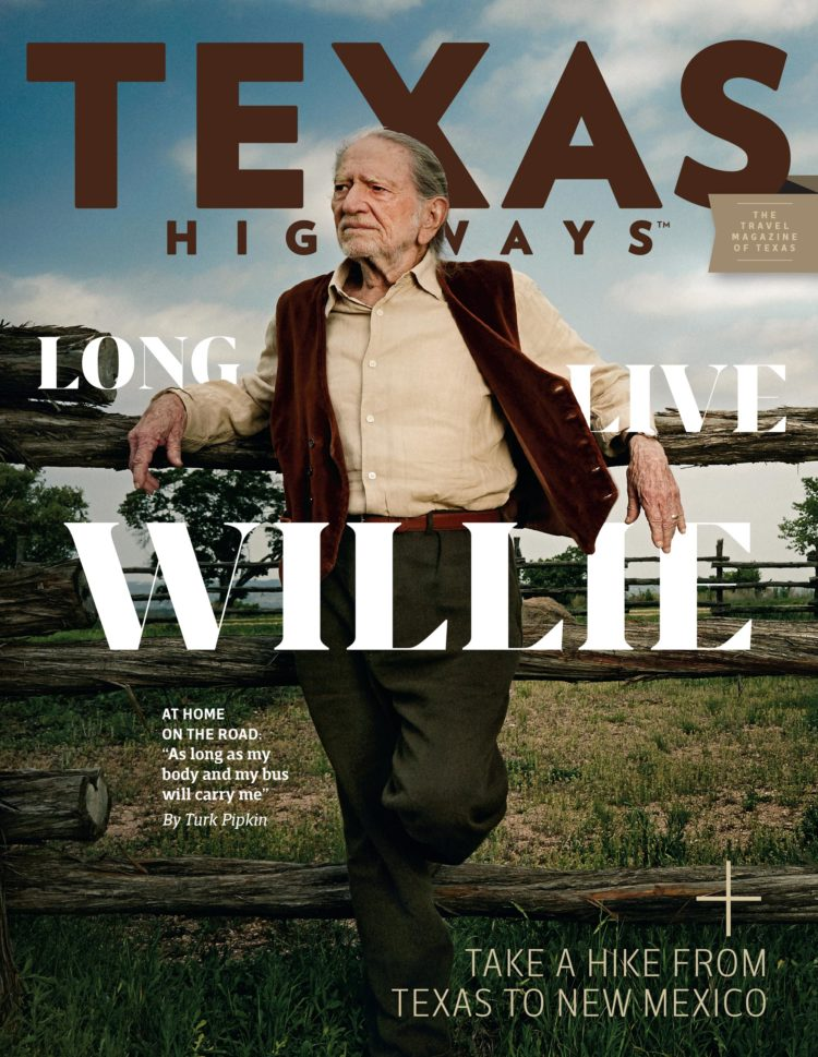 Texas Highways Magazine April 2019 cover